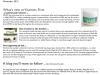 Vitamins First November 2012 Newsletter
