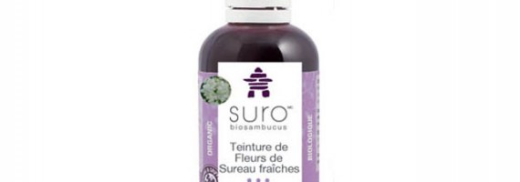SURO elderberry syrup - natural cold and flu remedy