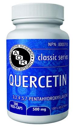 aor quercetin for allergies calgary