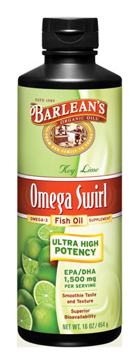 Omega Swirl Fish Oil - High Potency EPA DHA