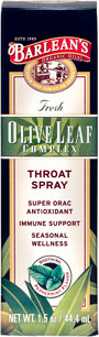 Olive Leaf Throat Spray Box