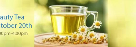 Beauty Tea on October 20th