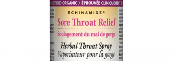 ECHINAMIDE Sore Throat Relief Herbal Throat Spray