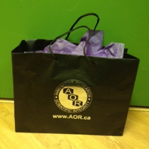 AOR gift basket