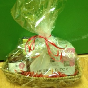 d-tox gift basket