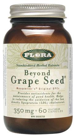 Flora Beyond Grapeseed 60 cap