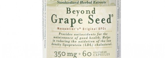 Grape seed antioxidants and good health