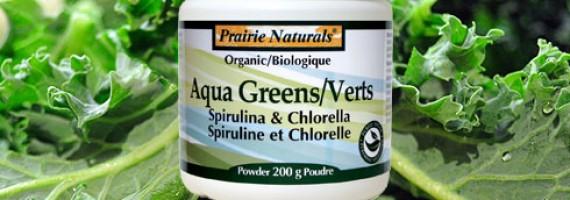Prairie Naturals Organic Aqua Greens