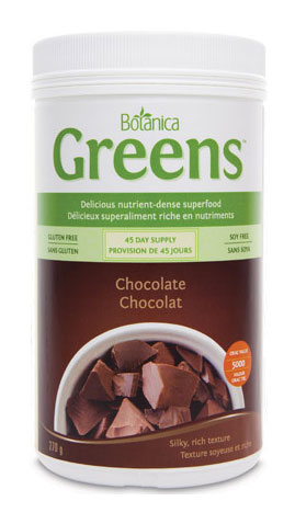 Botanica Greens Chocolate