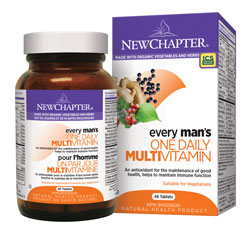 new chapter one daily multivitamin  for men
