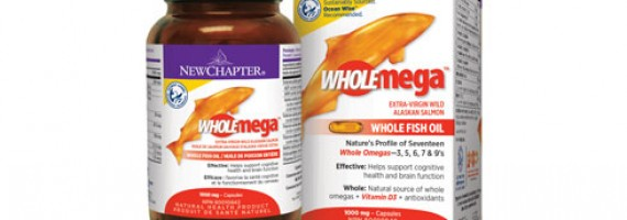Wholemega Whole Fish Oil from New Chapter