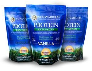 sunwarrior vegan protein