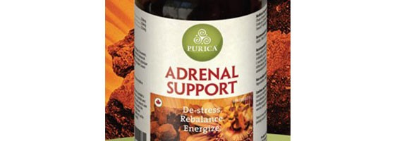 De-Stress.  Rebalance.  Energize. - Purica Adrenal Support