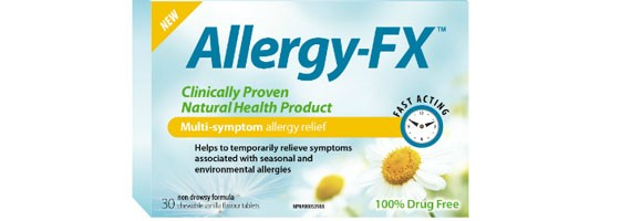 Natural Allergy Solution - New Allergy-FX®