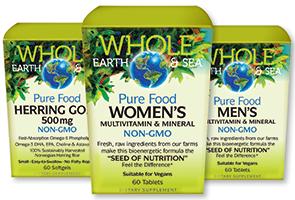Natural Factors Whole Earth Sea