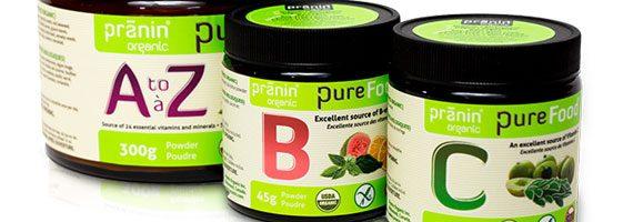 Pranin Organic - New this May
