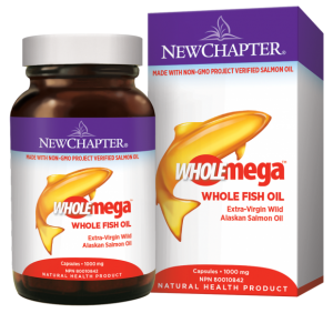 New Chapter - wholemega fish oil