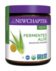 new chapter - fermented aloe booster powder
