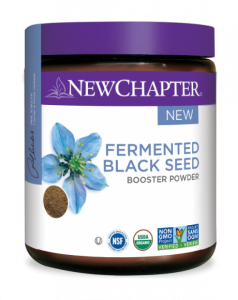 new chapter - fermented black seed booster powder