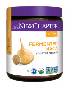new chapter - fermented maca booster powder