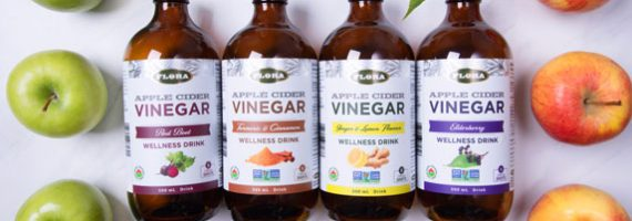 Flora Apple Cider Vinegar Wellness Shots